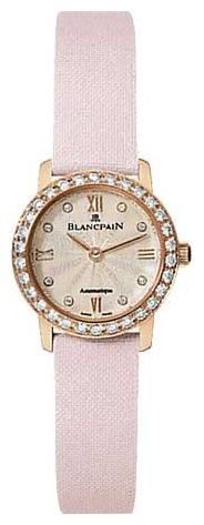 Wrist watch Blancpain 0062-312RO-52 for women - picture, photo, image