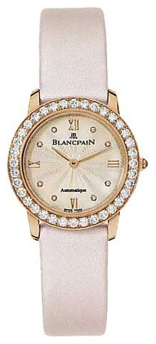 Wrist watch Blancpain 0096-312RO-52 for women - picture, photo, image