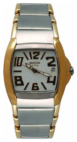 Wrist unisex watch Boccia 3124-09 - picture, photo, image