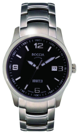 Wrist watch Boccia 3530-06 for Men - picture, photo, image