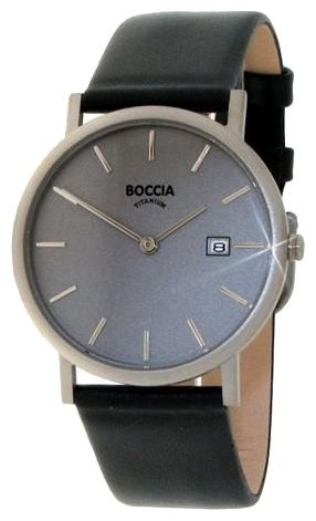 Wrist watch Boccia 3547-01 for Men - picture, photo, image