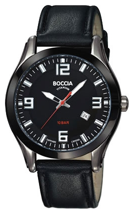 Wrist watch Boccia 3555-01 for Men - picture, photo, image