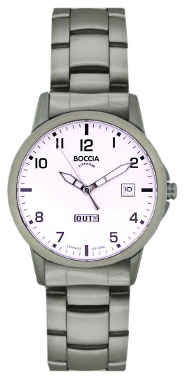 Wrist watch Boccia 604-06 for Men - picture, photo, image