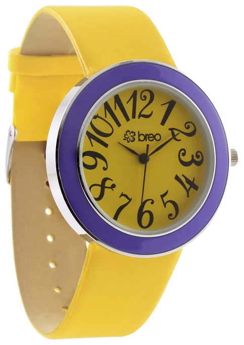 Wrist unisex watch breo Samba Watch Yellow - picture, photo, image
