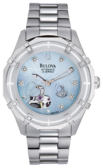 Wrist watch Bulova 96R151 for women - picture, photo, image