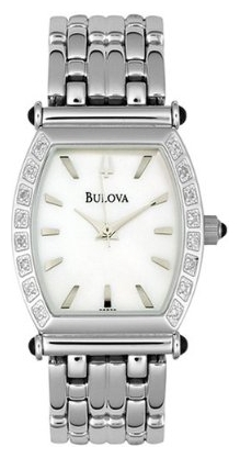 Wrist watch Bulova 96R39 for women - picture, photo, image