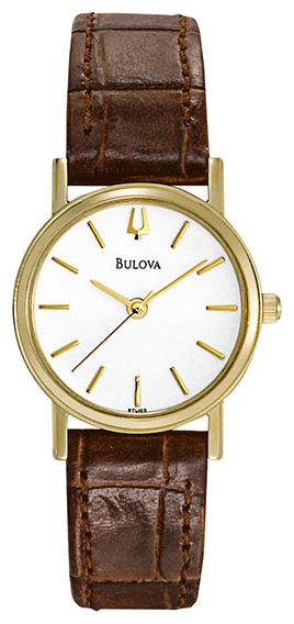 Wrist watch Bulova 97L102 for women - picture, photo, image
