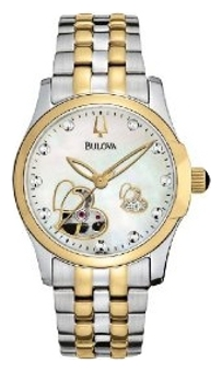 Wrist watch Bulova 98P123 for women - picture, photo, image