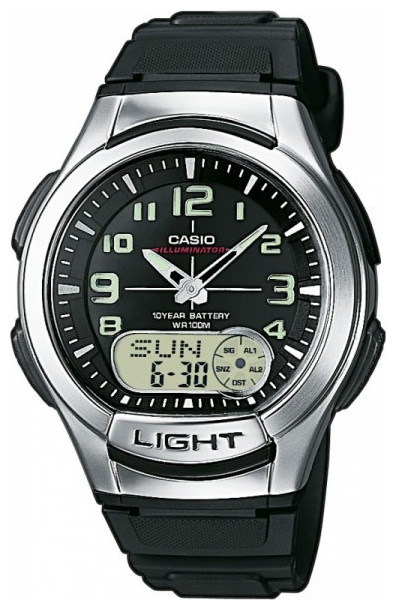 Wrist watch Casio AQ-180W-1B for Men - picture, photo, image
