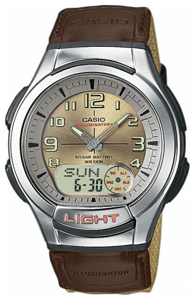 Wrist watch Casio AQ-180WB-5B for Men - picture, photo, image