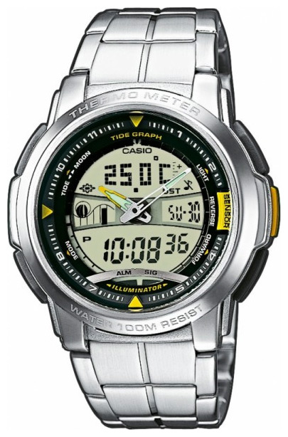 Wrist watch Casio AQF-100WD-9B for Men - picture, photo, image