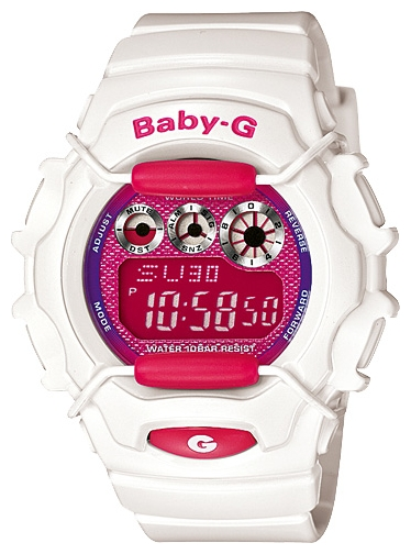 Wrist unisex watch Casio BG-1006SA-7A - picture, photo, image