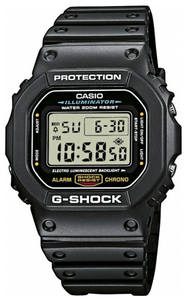 Wrist watch Casio DW-5600E-1V for men - picture, photo, image