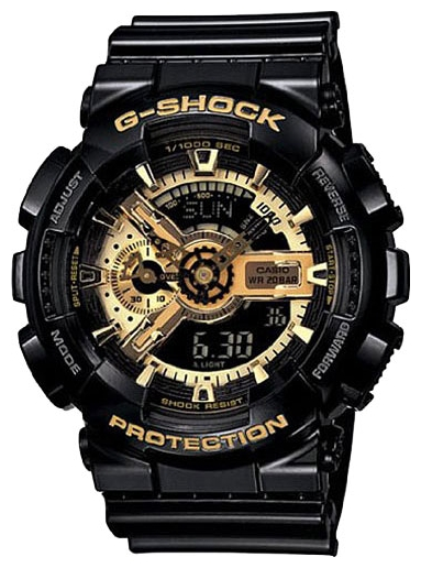 Wrist watch Casio GA-110GB-7A for Men - picture, photo, image