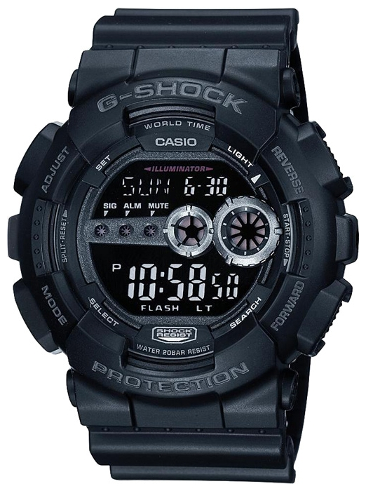 Wrist watch Casio GD-100-1B for Men - picture, photo, image