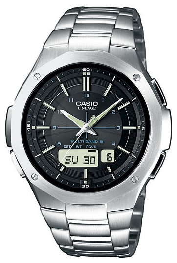 Wrist unisex watch Casio LCW-M160D-1A - picture, photo, image