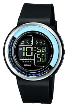 Wrist unisex watch Casio LDF-30-1A - picture, photo, image