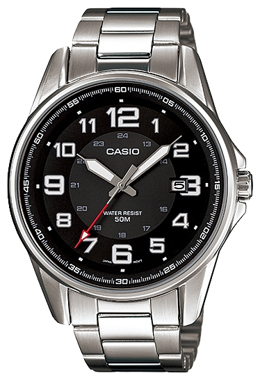 Wrist watch Casio MTP-1372D-1B for Men - picture, photo, image