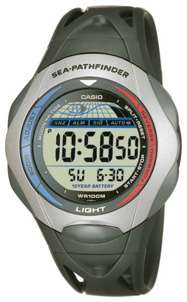Wrist watch Casio SPS-300C-1V for men - picture, photo, image