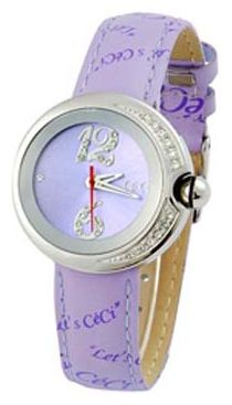 Wrist watch CeCi CEA0026ZKK for women - picture, photo, image