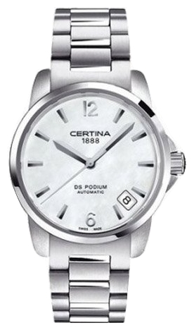 Wrist watch Certina C001.207.11.117.00 for women - picture, photo, image
