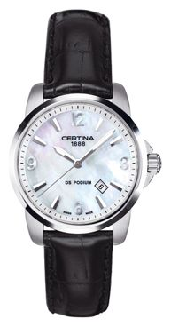 Wrist watch Certina C001.210.16.117.02 for women - picture, photo, image