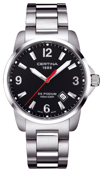 Wrist watch Certina C001.610.11.057.00 for Men - picture, photo, image