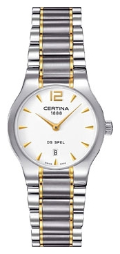 Wrist watch Certina C012.209.22.037.00 for women - picture, photo, image