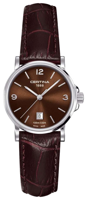 Wrist watch Certina C017.210.16.297.00 for women - picture, photo, image