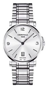 Wrist watch Certina C017.410.11.037.00 for Men - picture, photo, image