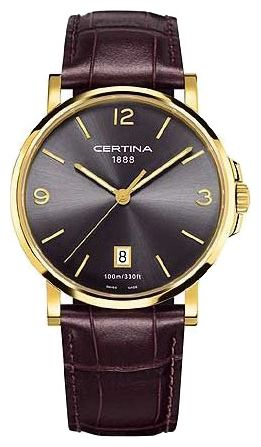 Wrist watch Certina C017.410.36.087.00 for Men - picture, photo, image
