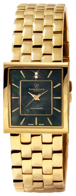 Wrist watch Christina London 118GBL for women - picture, photo, image