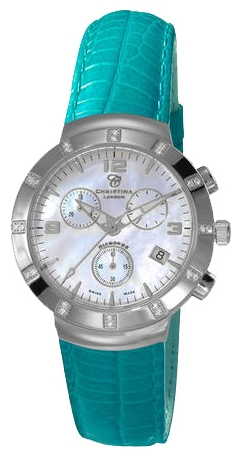 Wrist watch Christina London 124SWTURQUOISE for women - picture, photo, image