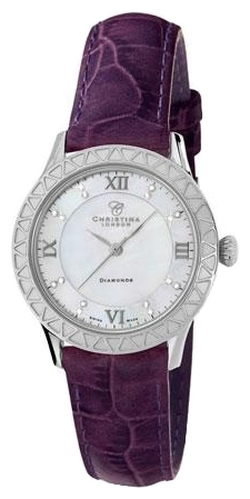 Wrist watch Christina London 134SWPURPLE for women - picture, photo, image