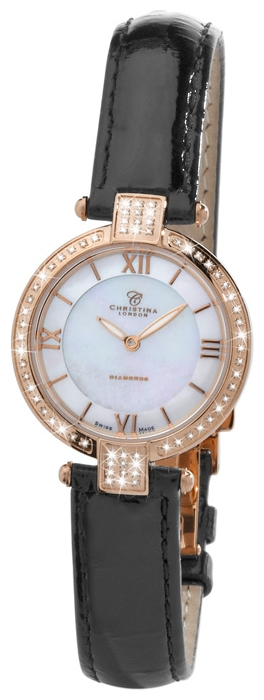 Wrist watch Christina London 1352RWBL for women - picture, photo, image