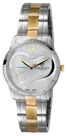 Wrist watch Christina London 147BW for women - picture, photo, image