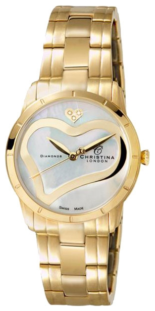 Wrist watch Christina London 147GW for women - picture, photo, image
