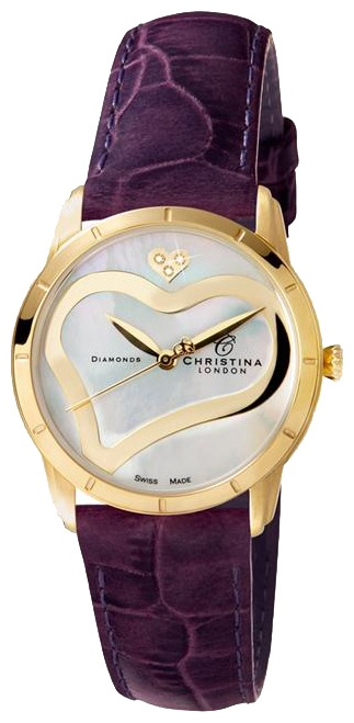 Wrist watch Christina London 147GWPURPL for women - picture, photo, image