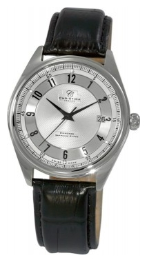 Wrist watch Christina London 501SSBL for Men - picture, photo, image