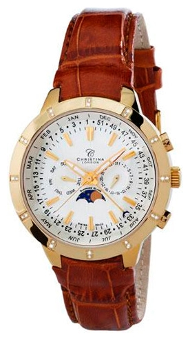 Wrist watch Christina London 505GWBR for Men - picture, photo, image