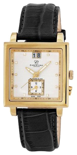Wrist watch Christina London 506GWBL for Men - picture, photo, image