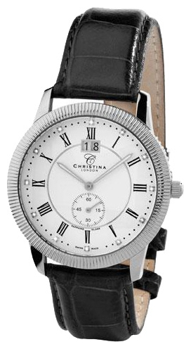 Wrist watch Christina London 507SWBL for Men - picture, photo, image