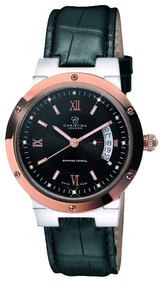 Wrist watch Christina London 512BRBLBL for Men - picture, photo, image