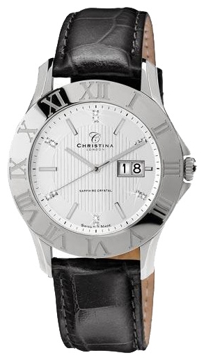 Wrist watch Christina London 514SWBL for Men - picture, photo, image