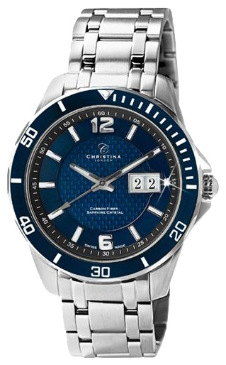 Wrist watch Christina London 515SBLUE for Men - picture, photo, image