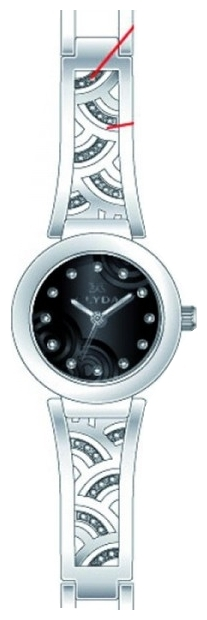 Wrist watch Clyda CLA0508RNPW for women - picture, photo, image
