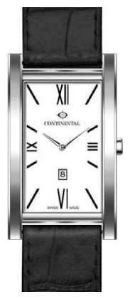 Wrist watch Continental 1075-SS157 for Men - picture, photo, image