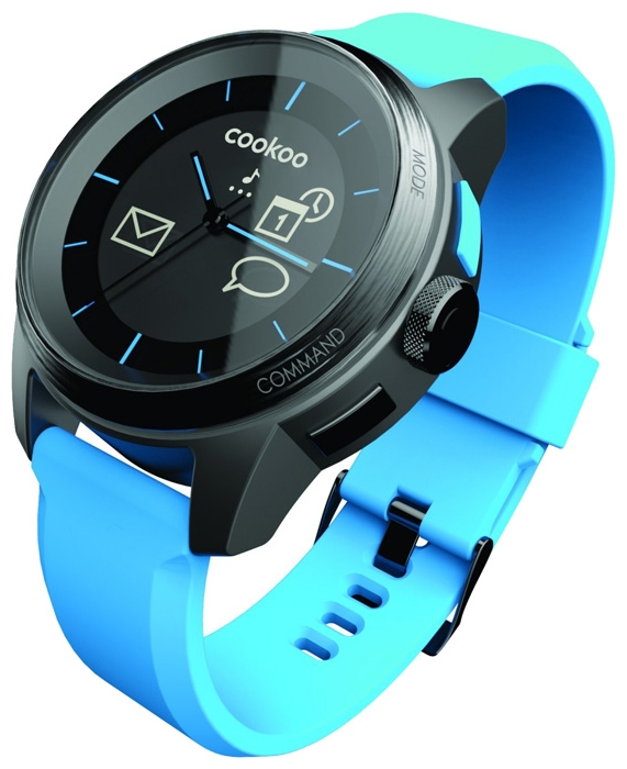 Wrist unisex watch COOKOO Blue - picture, photo, image