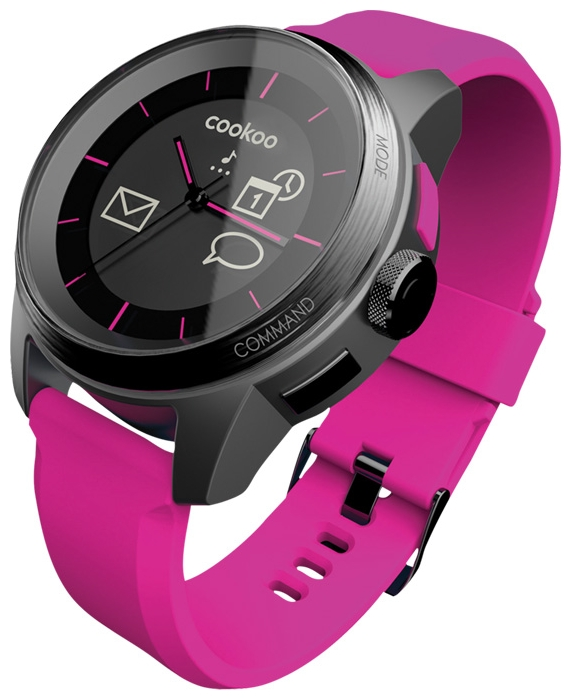 Wrist unisex watch COOKOO Pink - picture, photo, image
