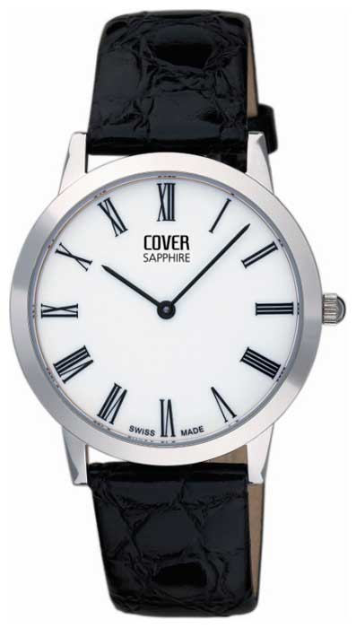 Wrist watch Cover Co124.ST22LBK for Men - picture, photo, image